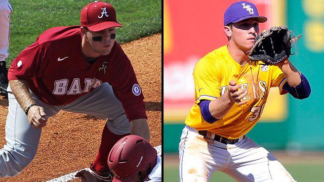 Alabama vs. #2 LSU (Game #13): 2013 SEC Baseball Tournament