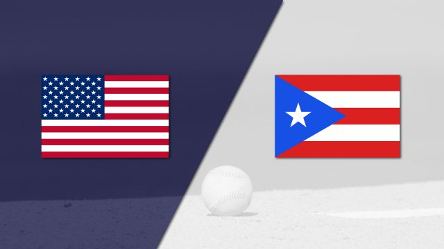 In Spanish - Estados Unidos vs. Puerto Rico (Final) (World Baseball Classic)