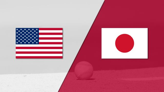 In Spanish - USA vs. Japan (Semifinal #2) (World Baseball Classic)