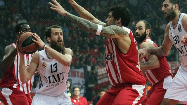 Real Madrid vs. Olympiacos Piraeus