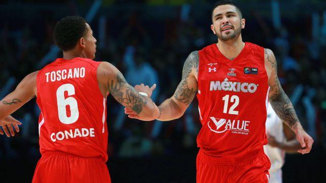 In Spanish - Mexico vs. Uruguay (First Round) (FIBA Americas)