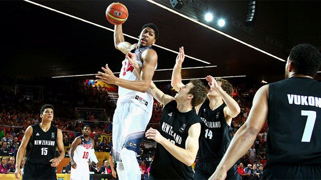 New Zealand vs. USA (Group Phase) (FIBA Basketball World Cup)