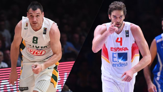Lithuania vs. Spain (Final) (FIBA EuroBasket)