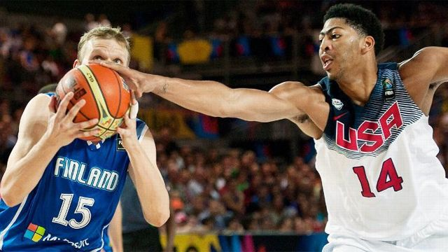 Finland vs. USA (Group Phase) (FIBA World Cup)