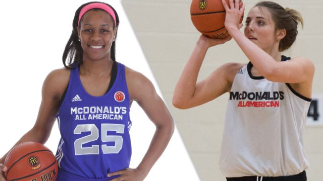 East vs. West (2015 McDonald's All American Girls Game)