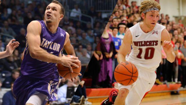 Taylor vs. Indiana Wesleyan (M Basketball)
