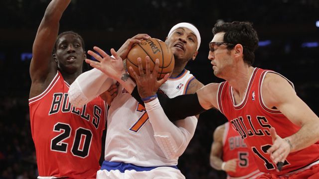 Chicago Bulls vs. New York Knicks (re-air)