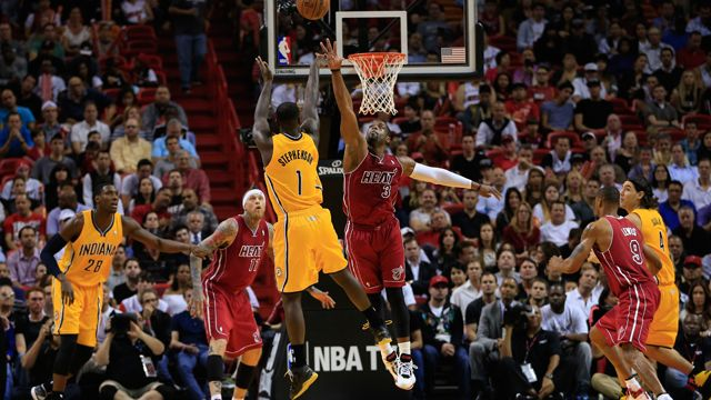 Indiana Pacers vs. Miami Heat (re-air)