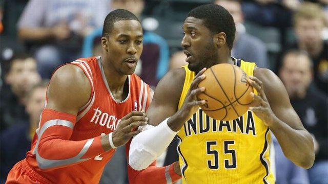 Houston Rockets vs. Indiana Pacers