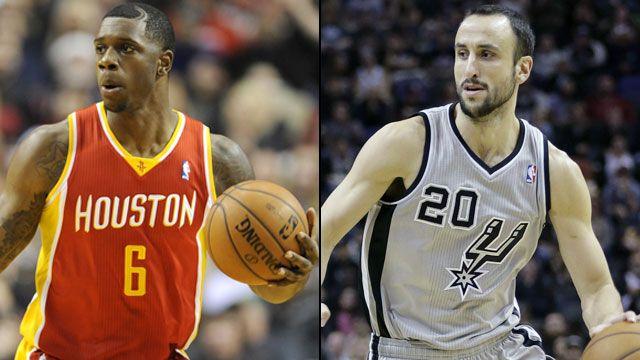 Houston Rockets vs. San Antonio Spurs