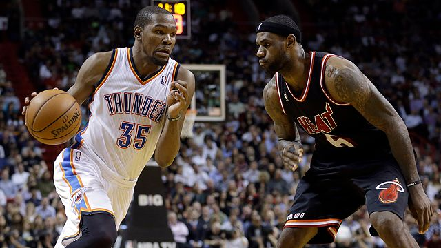 Oklahoma City Thunder vs. Miami Heat