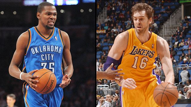 Oklahoma City Thunder vs. Los Angeles Lakers (re-air)