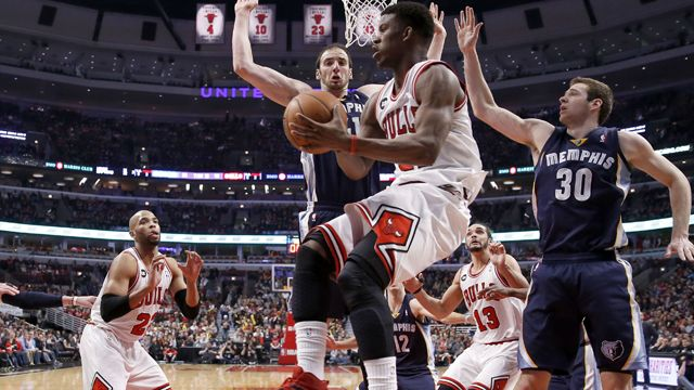 Memphis Grizzlies vs. Chicago Bulls (re-air)