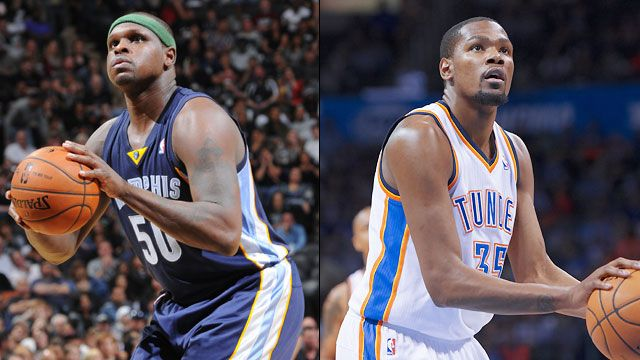 Memphis Grizzlies vs. Oklahoma City Thunder (First Round, Game 1)