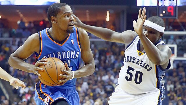 Oklahoma City Thunder vs. Memphis Grizzlies (First Round, Game 4)