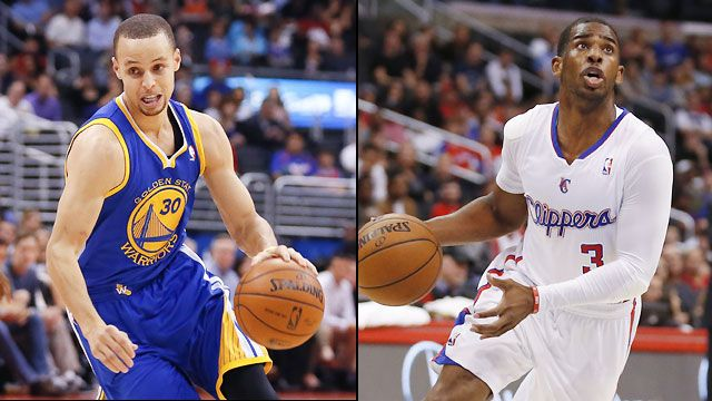 Golden State Warriors vs. Los Angeles Clippers (First Round, Game 1)