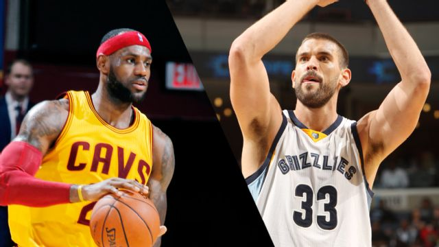 Cleveland Cavaliers vs. Memphis Grizzlies (re-air)