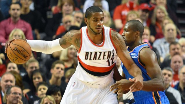 Oklahoma City Thunder vs. Portland Trail Blazers