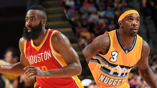 Houston Rockets vs. Denver Nuggets
