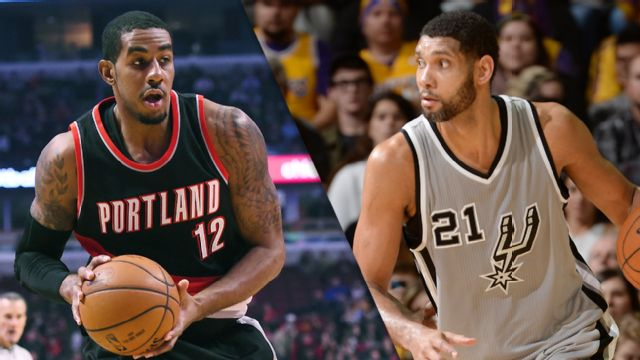Portland Trail Blazers vs. San Antonio Spurs (re-air)