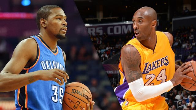 Oklahoma City Thunder vs. Los Angeles Lakers
