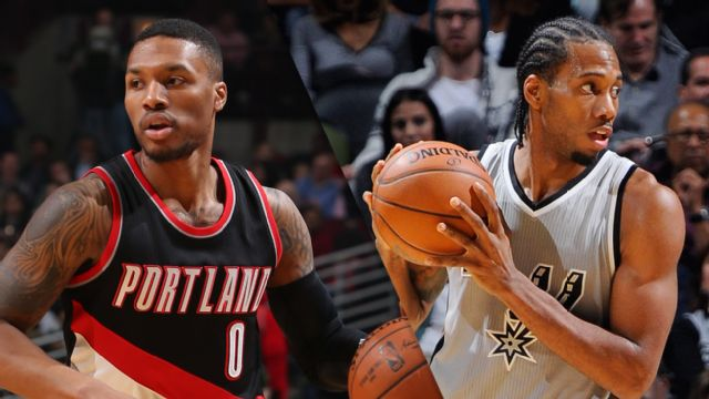 In Spanish - Portland Trail Blazers vs. San Antonio Spurs