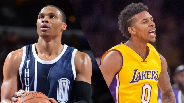 In Spanish - Oklahoma City Thunder vs. Los Angeles Lakers