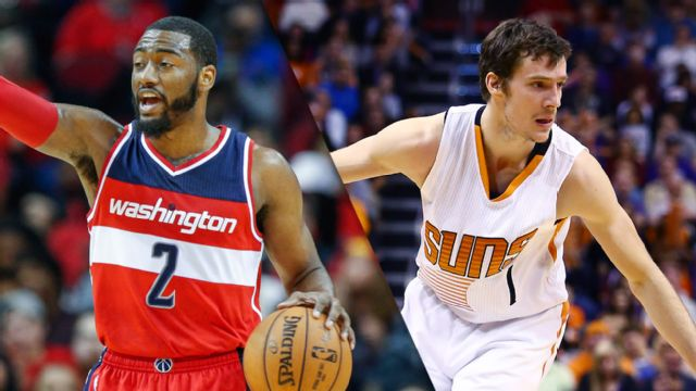 Washington Wizards vs. Phoenix Suns
