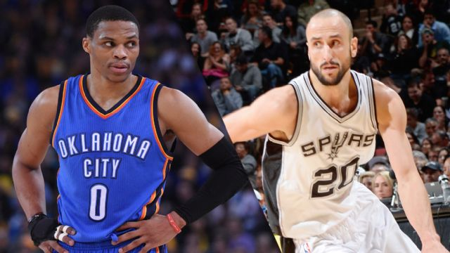 In Spanish - Oklahoma City Thunder vs. San Antonio Spurs