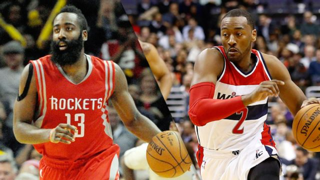 Houston Rockets vs. Washington Wizards