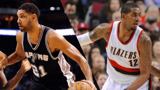 San Antonio Spurs vs. Portland Trail Blazers