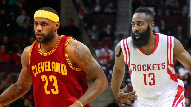 Cleveland Cavaliers vs. Houston Rockets