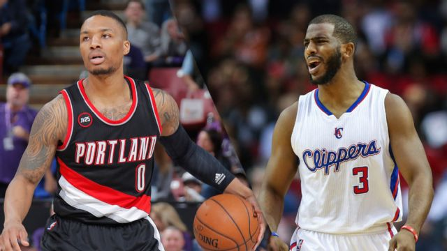 Portland Trail Blazers vs. Los Angeles Clippers (re-air)