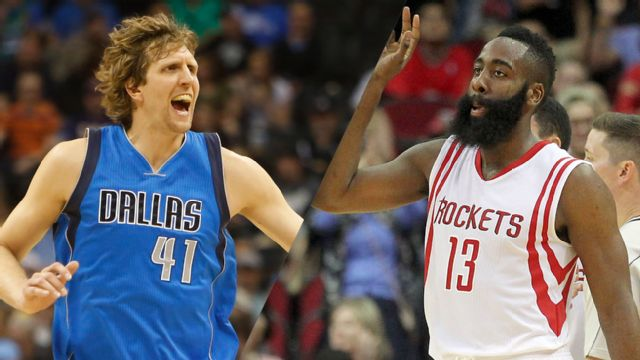 Dallas Mavericks vs. Houston Rockets (First Round, Game 1)