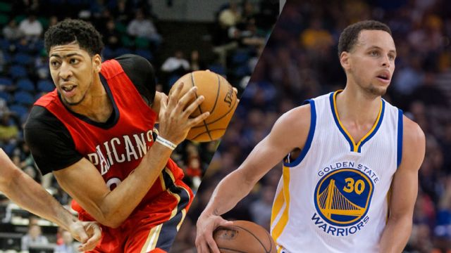 New Orleans Pelicans vs. Golden State Warriors (First Round, Game 1)