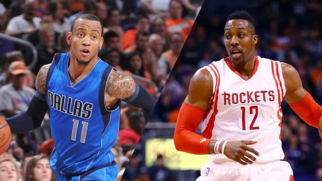 In Spanish - Dallas Mavericks vs. Houston Rockets (Primera Vuelta, Partido #1)