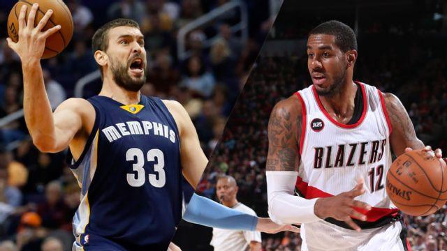 In Spanish - Memphis Grizzlies vs. Portland Trail Blazers (Primera Vuelta, Partido #3)