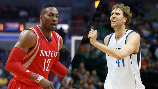 Houston Rockets vs. Dallas Mavericks (First Round, Game 3)