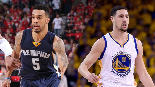 In Spanish - Memphis Grizzlies vs. Golden State Warriors (Semifinal de Conferencia, Partido #1)
