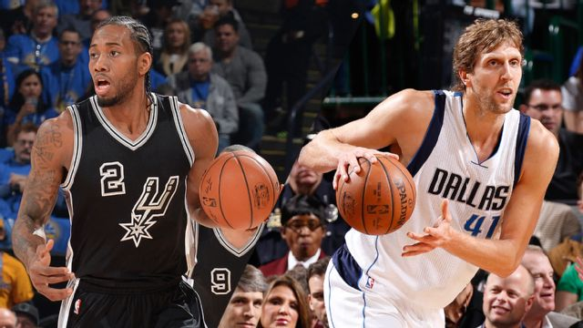 San Antonio Spurs vs. Dallas Mavericks