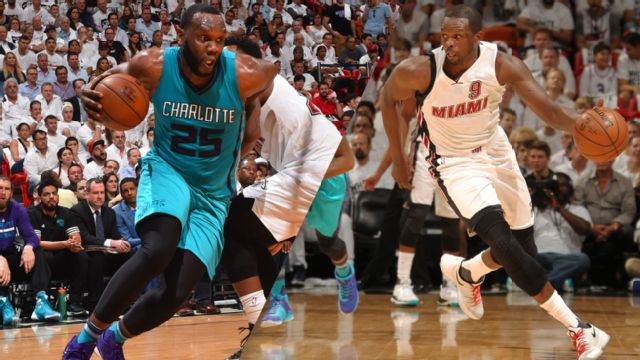In Spanish - #6 Charlotte Hornets vs. #3 Miami Heat (First Round, Game 7)