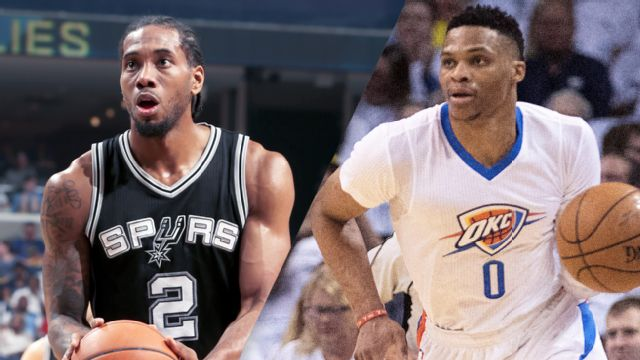 In Spanish - San Antonio Spurs vs. Oklahoma City Thunder (Semifinal de Conferencia, Partido #3)