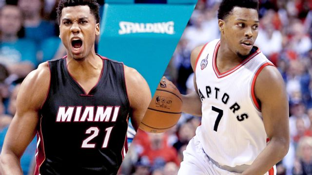 In Spanish - Miami Heat vs. Toronto Raptors (Semifinal de Conferencia, Partido #2)