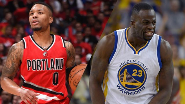 Portland Trail Blazers vs. Golden State Warriors (Conference Semifinal, Game 1)