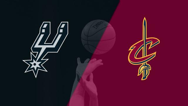 San Antonio Spurs vs. Cleveland Cavaliers