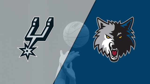 San Antonio Spurs vs. Minnesota Timberwolves