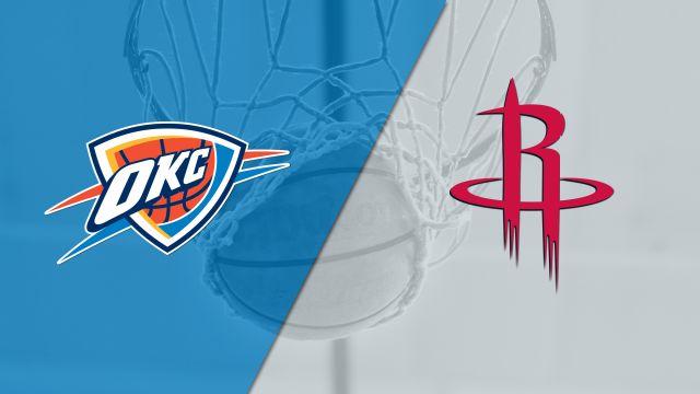 In Spanish - Oklahoma City Thunder vs. Houston Rockets