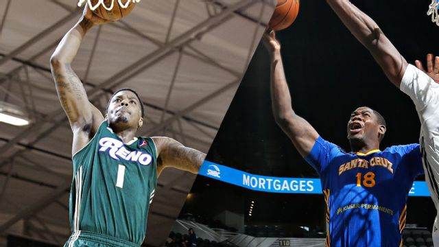 Reno Bighorns vs. Santa Cruz Warriors
