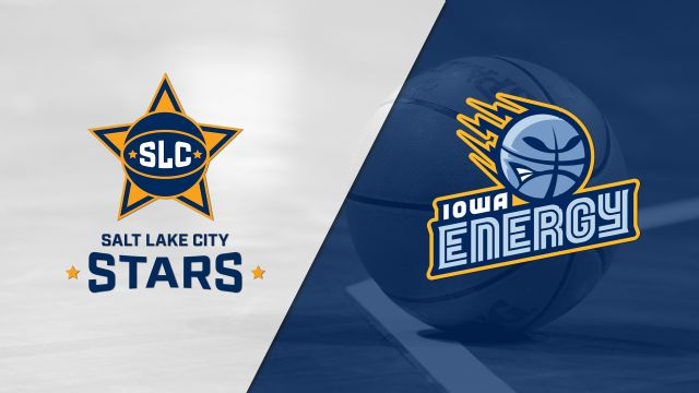 Salt Lake City Stars vs. Iowa Energy
