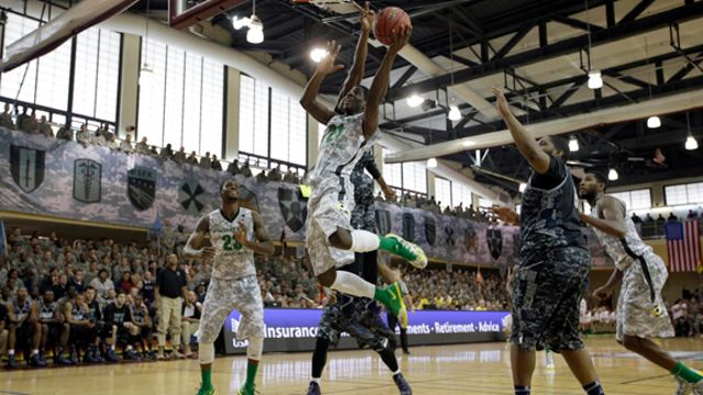 Georgetown vs. #19 Oregon: Armed Forces Classic